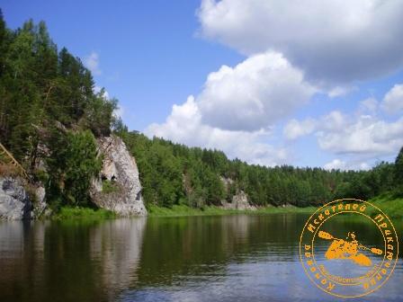Сплав по Нейве - 11-12 июля. Скалы на Нейве
