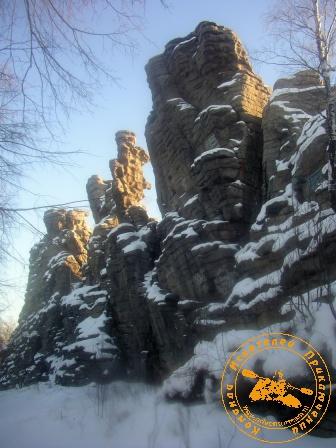 Скалы Семь Братьев. Новогодний поход 2-3 января 2006 года