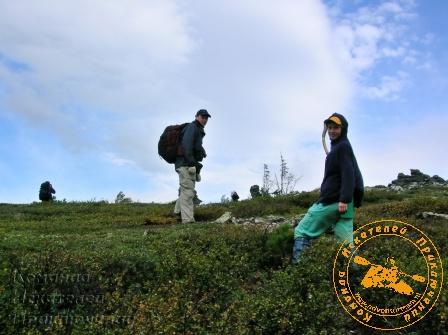 Экспедиция на перевал Дятлова. 2005 год.