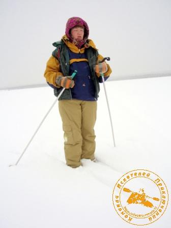 Лыжный поход - январь