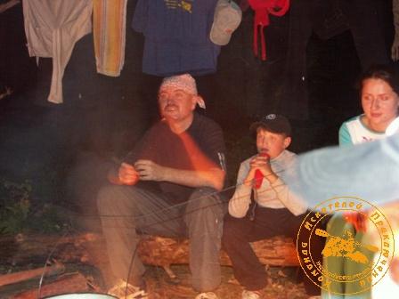 "Сплав с коллективом ""АСП"" по реке Реж - июль"