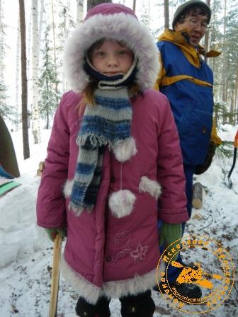 Детский праздник - январь 2010. Задумчивость