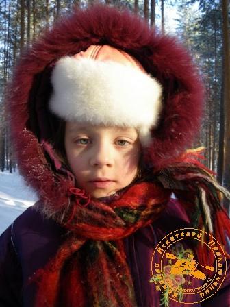 Детский праздник - январь 2010. Портрет Танюши
