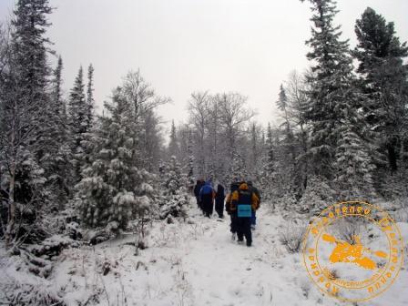Поход на Конжаковский Камень с коллективом завода Оцм, ноябрь 2007 года. Вверх, в горы