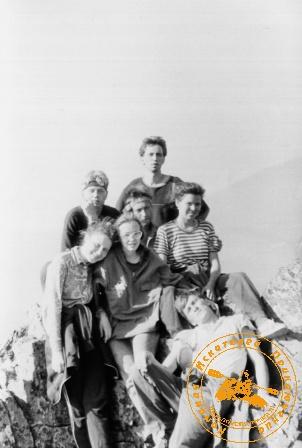 Наша молодость. поход на Конжак, июнь 1991 года.  Мы счастливы