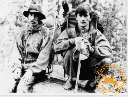 Наша молодость. поход на Конжак, июнь 1991 года. Серьёзный лесной народ