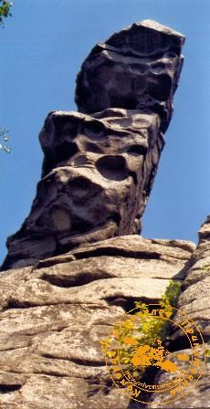 Поход к Каменным Стражам. Один из Стражей