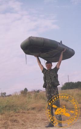 По Великой Уральской реке, август 2003 года. Лодки в гору!