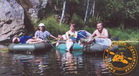 """По Великой Уральской реке, август 2003 года. На """"трёшке"""""""