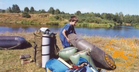 По Великой Уральской реке, август 2003 года. Подготовка