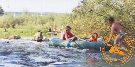 По Великой Уральской реке, август 2003 года. Порожек