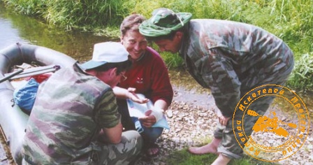 По Великой Уральской реке, август 2003 года. Совет бывалых