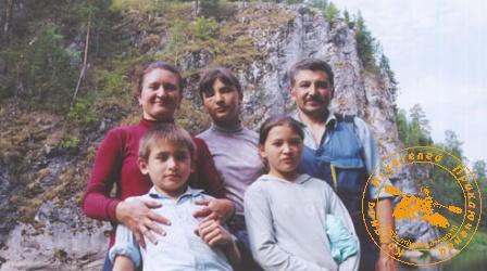 По Великой Уральской реке, август 2003 года. Шаяхметовы