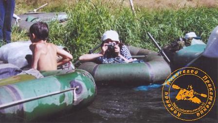 По Великой Уральской реке, август 2003 года. Щёлк - щёлк