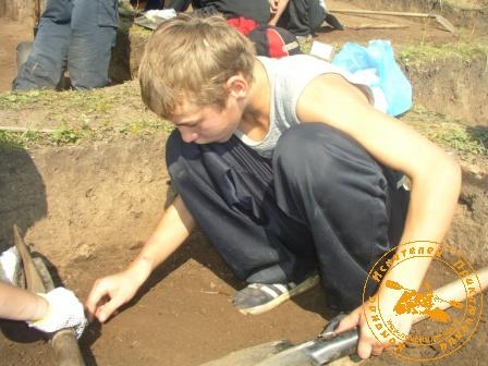 Юный археолог