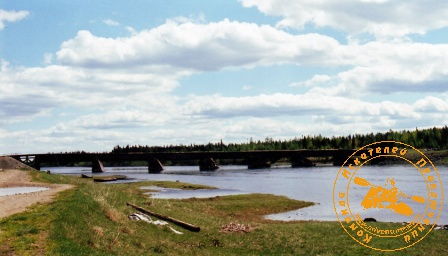 II мансийская экспедиция. Деревня Бурмантово, мост через Лозьву